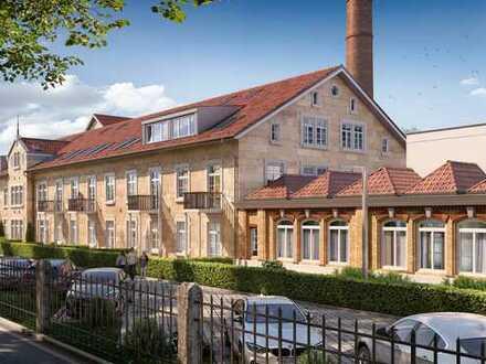 Kapitalanleger aufgepasst! Stilvolle 2-Zimmer-Wohnung auf 100 m² in der Eisenlohr'schen Weberei