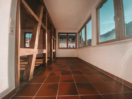 Charmant und Idyllisch: Lichtdurchflutete 3,5 Zimmer im Herzen des Kurorts Bad Liebenzell