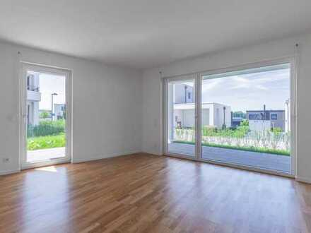 Familientraum! Ideal geschnittene 4 Zimmerwohnung mit 2 Terrassen und großem Garten