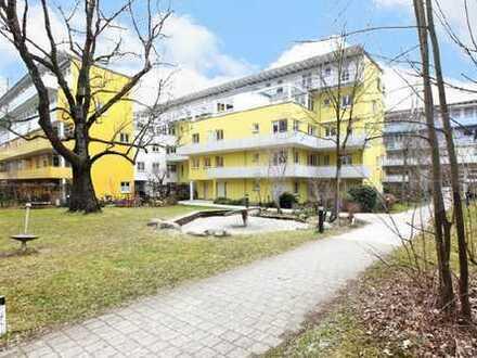 Sehr gut vermietete, moderne 1 Zi.-Whg. mit West-Balkon in ruhiger Lage von Johanneskirchen