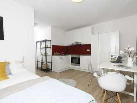 Geschmackvoll und modern möbliertes, voll-ausgestattetes Apartment im Zentrum von S-Vaihingen!