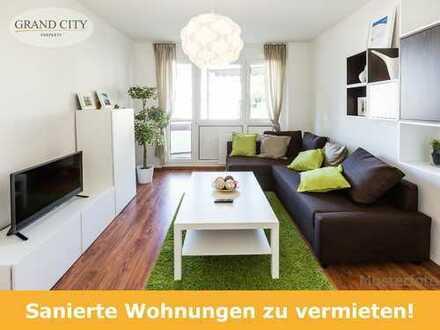 Gut geschnittene 3-Zimmer-Wohnung, saniert ab 01.01.2019