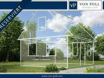 Großes Grundstück in Ortsrandlage mit geplantem Doppelhaus