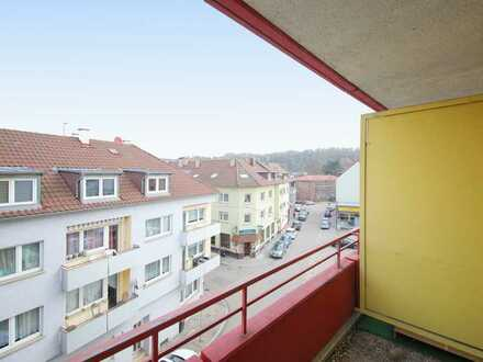 Zentrumsnah! Schicke 2-Zimmer-Wohnung mit Balkon