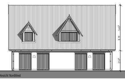 Neubau Doppelhaushälfte in exponierter stadtnaher Lage mitten in Wyk - Ferienwohnung