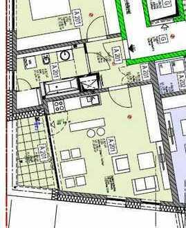 Neuwertige 2-Zimmer-Wohnung, Balkon, Einbauküche, Landau, Blick auf Pfälzer Berge