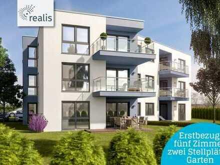ERSTBEZUG EINER NEUGEBAUTEN WOHNUNG! 5 Räume, eigener Garten, zwei Stellplätz, Kellerabteil!++