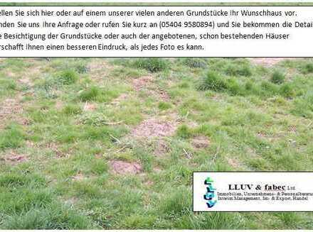 Grundstück in Siedlungsrandlage - noch kein Bauland