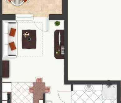 Schöne 1-Zimmer-Whg. als Kapital-Anlage oder zur Selbstnutzung