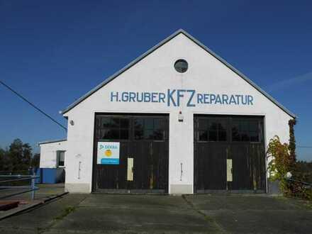 Werkstatt mit Büro und Einfamilienhaus in Königsbrück