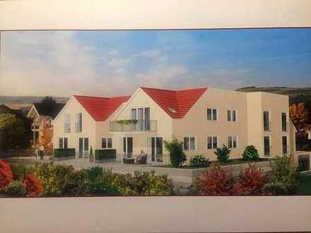 Neuwertige 3-Zimmer-Hochparterre-Wohnung mit Balkon und Einbauküche in Bingen am Rhein