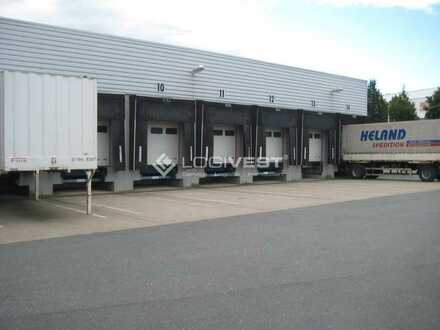 Lager-und Logistikhalle mit LKW-Werkstatt