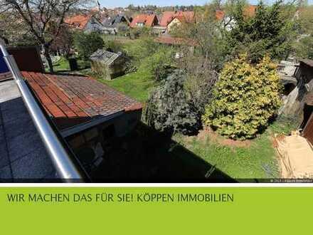3-Zi.-ETW 70 qm + Bühnenraum mit angrezender Scheune, Garage und Lager in Schwaikheim