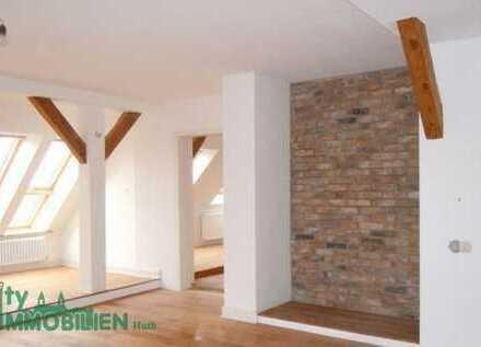 Große 2 Zimmer-Dachgeschosswohnung in Fehrbellin