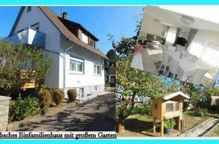 RESERVIERT**modernisiertes Einfamilienhaus mit großem Garten** Das ideale Familiendomizil