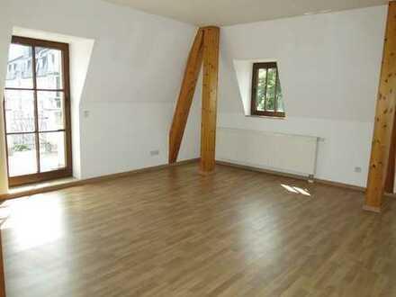 2-Zi-Wohnung mit Terrasse in schöner Villa - Muldennähe!