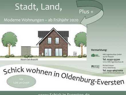 Schick wohnen in Eversten | Wohnung mit tollen Aussichten [DG]