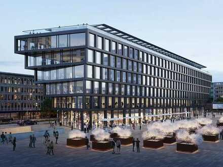 Mercator One - 800 m² Penthouse-Büro