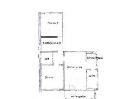 Geräumige, frisch sanierte 3 Zimmer Wohnung!
