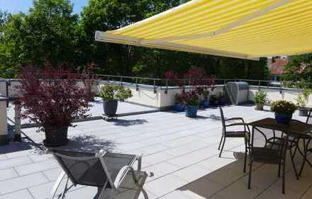 Wir bieten etwas einmaliges! *Absolut ruhig gelegener Dachterrassentraum im Penthousestil*