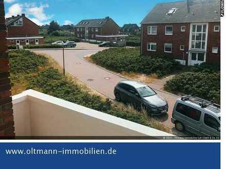 Helle und großzügige Wohnung in Dünenrandlage mit Balkon
