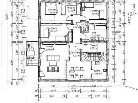 Erstbezug mit Balkon: stilvolle 5-Zimmer-Wohnung in Hettenshausen