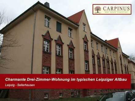 Charmante Drei-Zimmer-Wohnung im typischen Leipziger Altbau