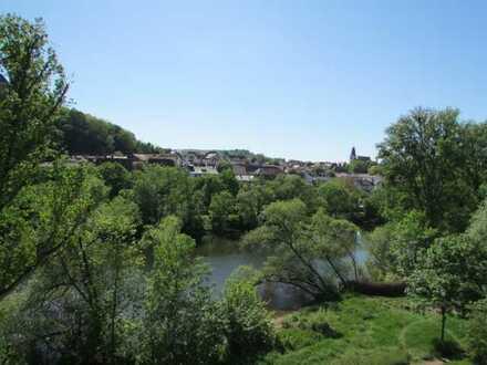 Herrliche Aussicht über die Nahe und zur Ebernburg