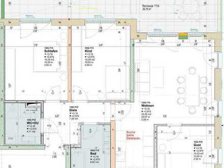 Attraktive 4-Zimmer Wohnung im Neubau !!! (T15)