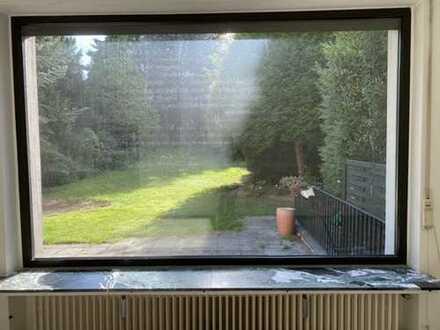 Wohnen im Grünen! 5-Zimmer-EG-1.OG-Wohnung m. Gartennutzung u. Balkon in Bochum Nähe Stadtpark!