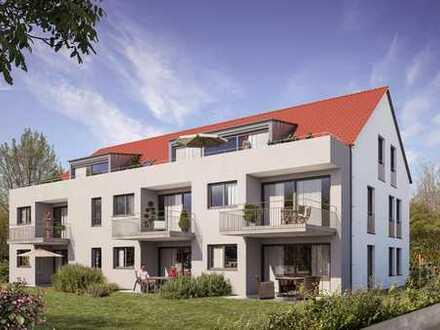 Ausgezeichnete 4-Zimmerwohnung im Erdgeschoss mit Garten (Wohnung 1)