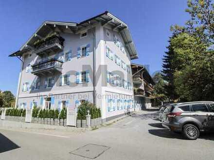 Wohnen oder wohnen lassen! 2-Zimmer-Wohnung mit Südbalkon in den Chiemgauer Alpen
