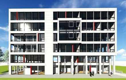 Firmensitz in HRO-CITY-Neubaugrundst. mit Warnowblick, Penthousewohnen für Eigentümer im DG möglich