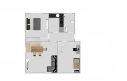 Schöne drei Zimmer Wohnung in Rems-Murr-Kreis, Korb