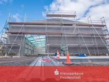 Gewerbegrundstück für Neubau, mit Wohnhaus