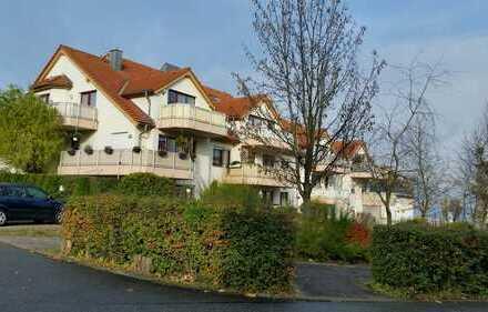 Ansprechende 2-Zimmer-Wohnung mit Terrasse u. Tiefgaragenstellplatz zu vermieten! Ruhige, grüne Lage