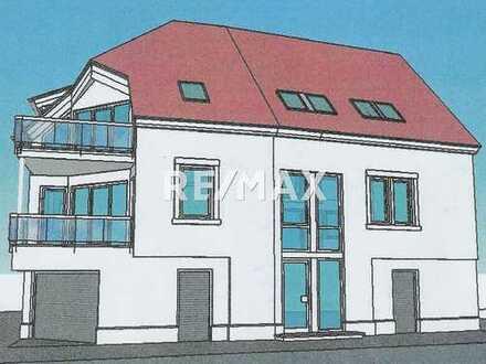 Baugrundstück mitten in Bad Bergzabern mit Baugenehmigung für ein 3 Familienhaus