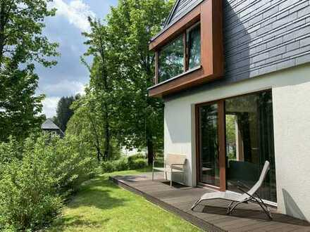 Designer-Architektenhaus am Rennsteig und Grünen Band