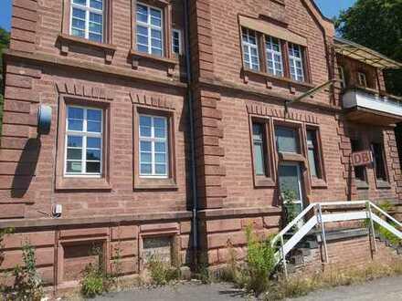 Große Wohnung in historischem Gebäude zum selber renovieren