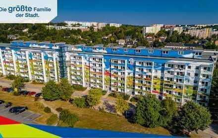 *ERSTBEZUG, Umbau zur 4-Raum Etagenwohnung mit 2 Balkonen*