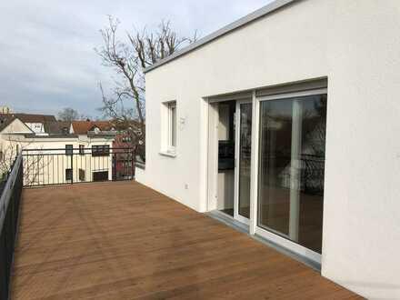 Erstbezug im Zentrum von Langen: stilvolle 3-Zimmer-Penthouse-Wohnung mit hochwertiger EBK