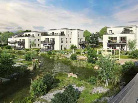 WE3 /Hochwertige 2-Zimmer Neubau-Wohnung im Herzen Kraillings mit zwei Terrassen, Garten und Hobbyr.