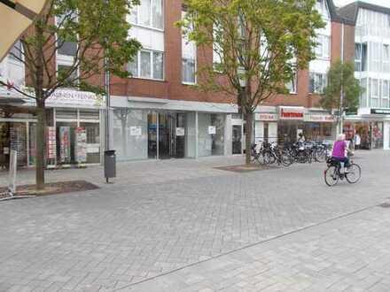 Vermietung eines Ladenlokales in bester 1A-Lage der Fußgängerzone von Troisdorf