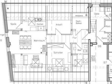 3-Zimmer Maisonette-Wohnung im Ortskern S6