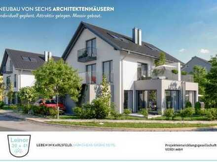 NEUBAU VON SECHS ARCHITEKTENHÄUSERN Individuell geplant. Attraktiv gelegen. Massiv gebaut.