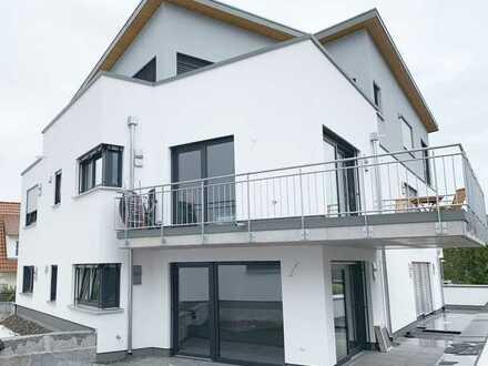 Exklusive 2,5-Zimmer-EG-Wohnung mit Einbauküche und Terrasse in Altenriet