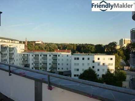 *3,5-Zimmer-Wohnung mit traumhafter Aussicht auf die Burg in Landshut zw. Hauptbahnhof und Klinikum!