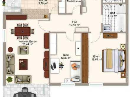 +++ 3 Zimmer, 2 Balkone, 1 Garage in Bissingen +++