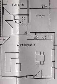 Erstbezug: ansprechende 2-Zimmer-EG-Wohnung mit EBK und Balkon in Bösingen