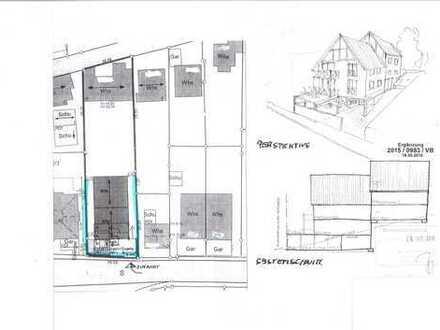 Grundstück für Doppelhaus- Bebauung mit 4 Wohneinheiten!